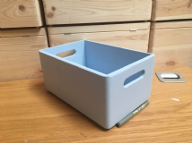 Light Blue Colour Box 30cm Long, 20cm Wide and 13.5cm High